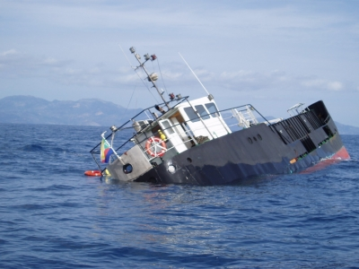 Schiffs-Havarie